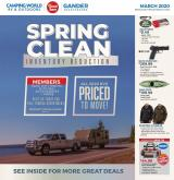 Gander Mountain Flyer - 03.01.2020 - 03.15.2020.