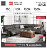 Value City Furniture Flyer - 03.10.2020 - 03.16.2020.