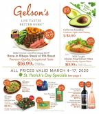 Gelson's Flyer - 03.04.2020 - 03.17.2020.