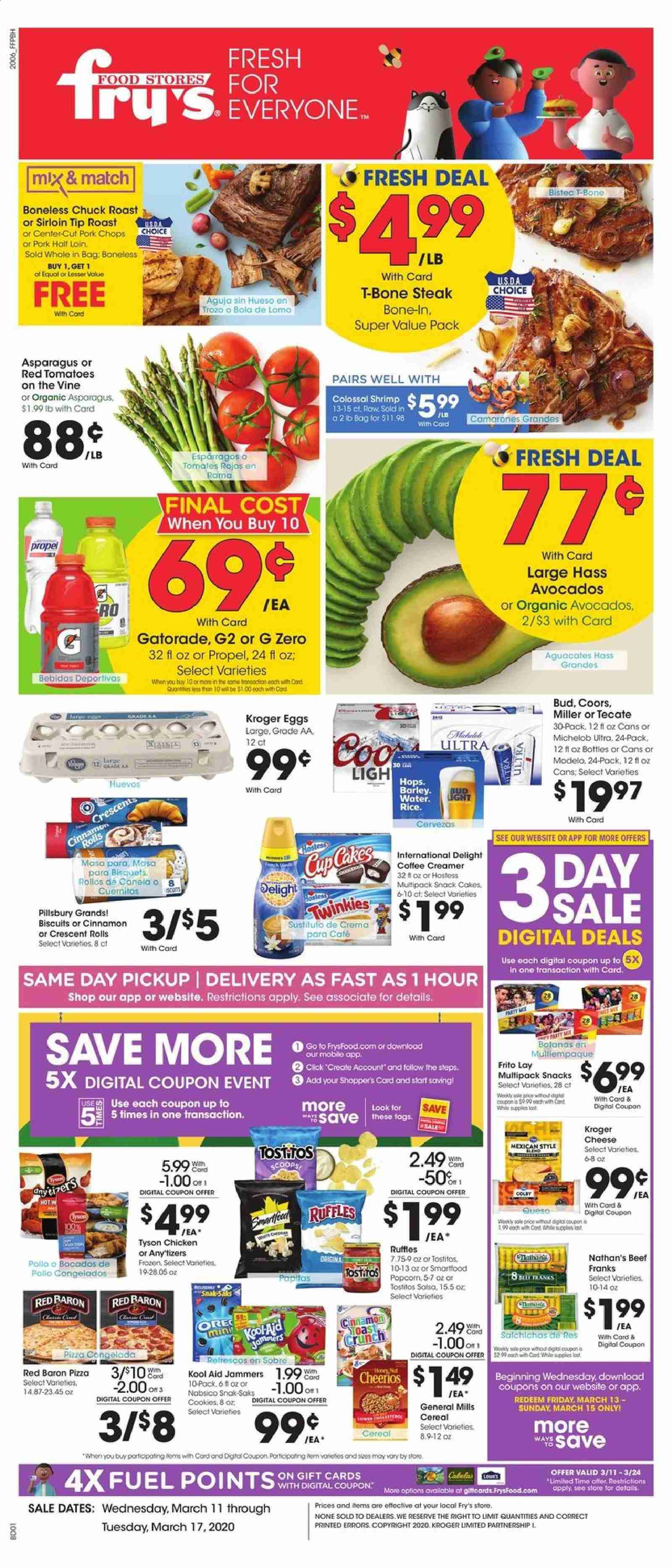 Fry's Flyer  - 03.11.2020 - 03.17.2020. Page 1.