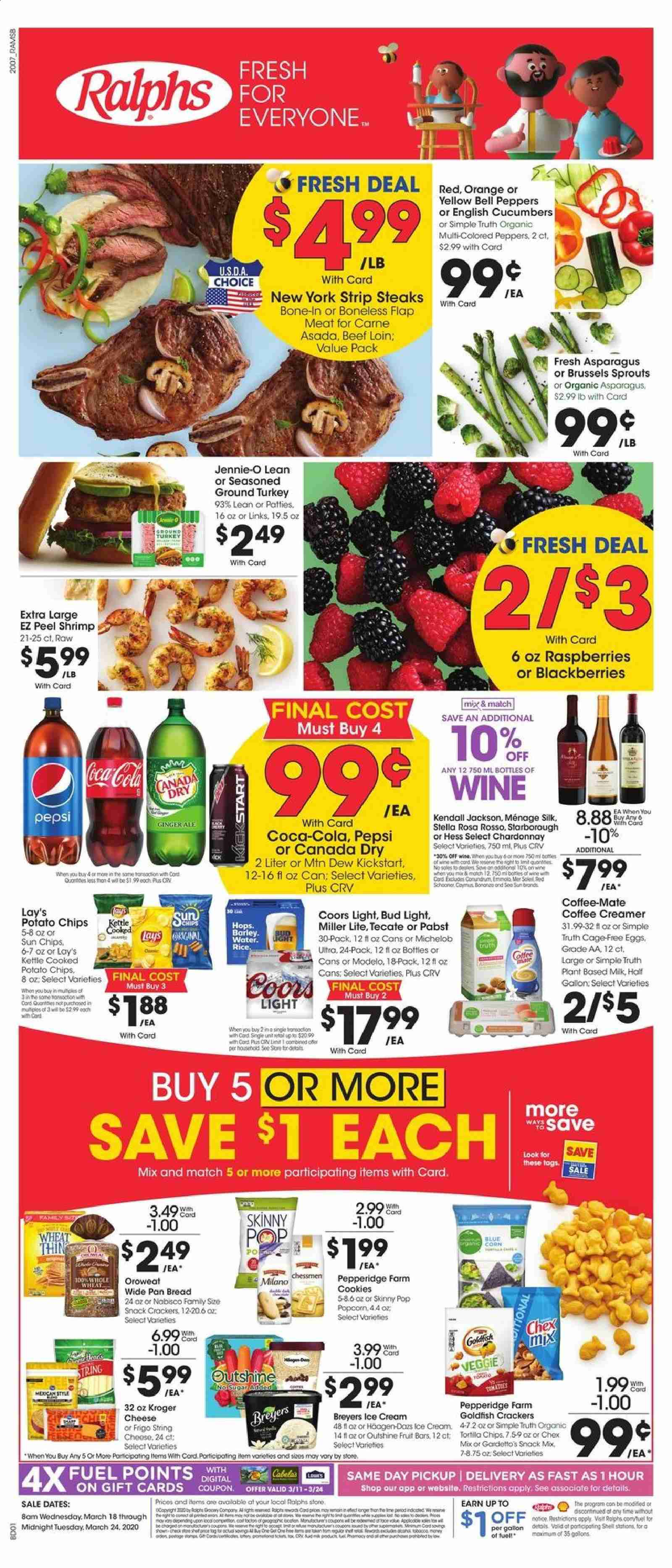 Ralphs Flyer  - 03.18.2020 - 03.24.2020. Page 1.