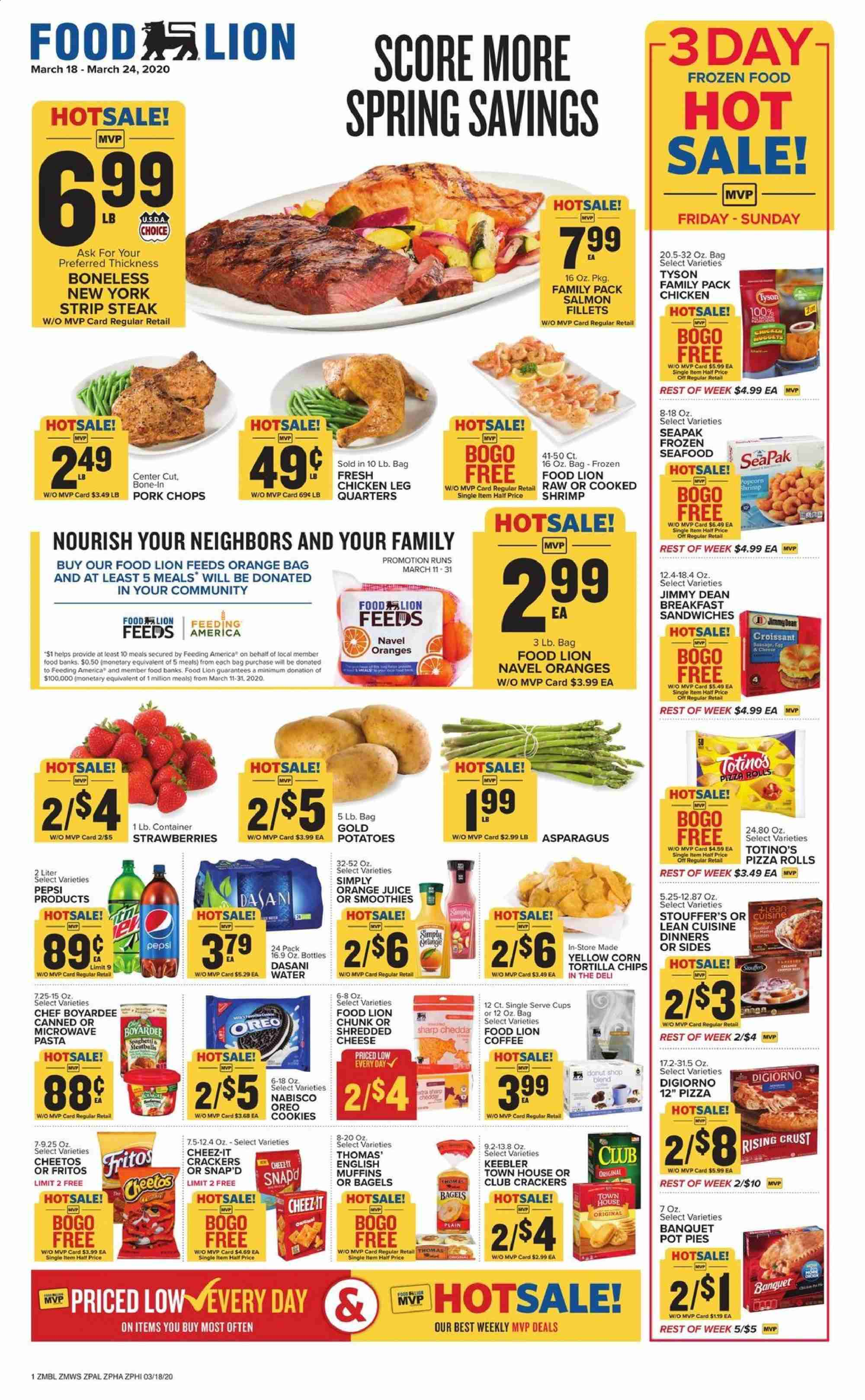Food Lion Flyer 03 18 2020 03 24 2020 Page 1 Weekly Ads