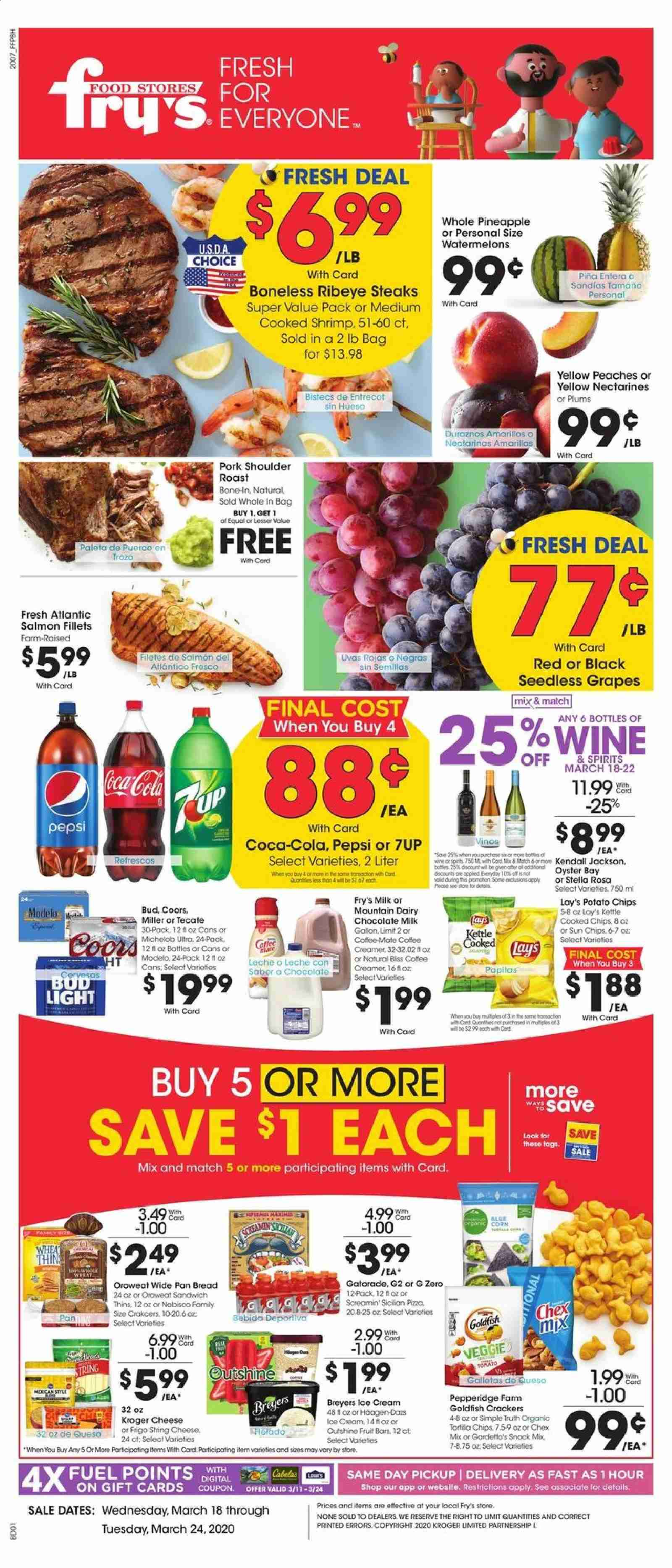 Fry's Flyer  - 03.18.2020 - 03.24.2020. Page 1.