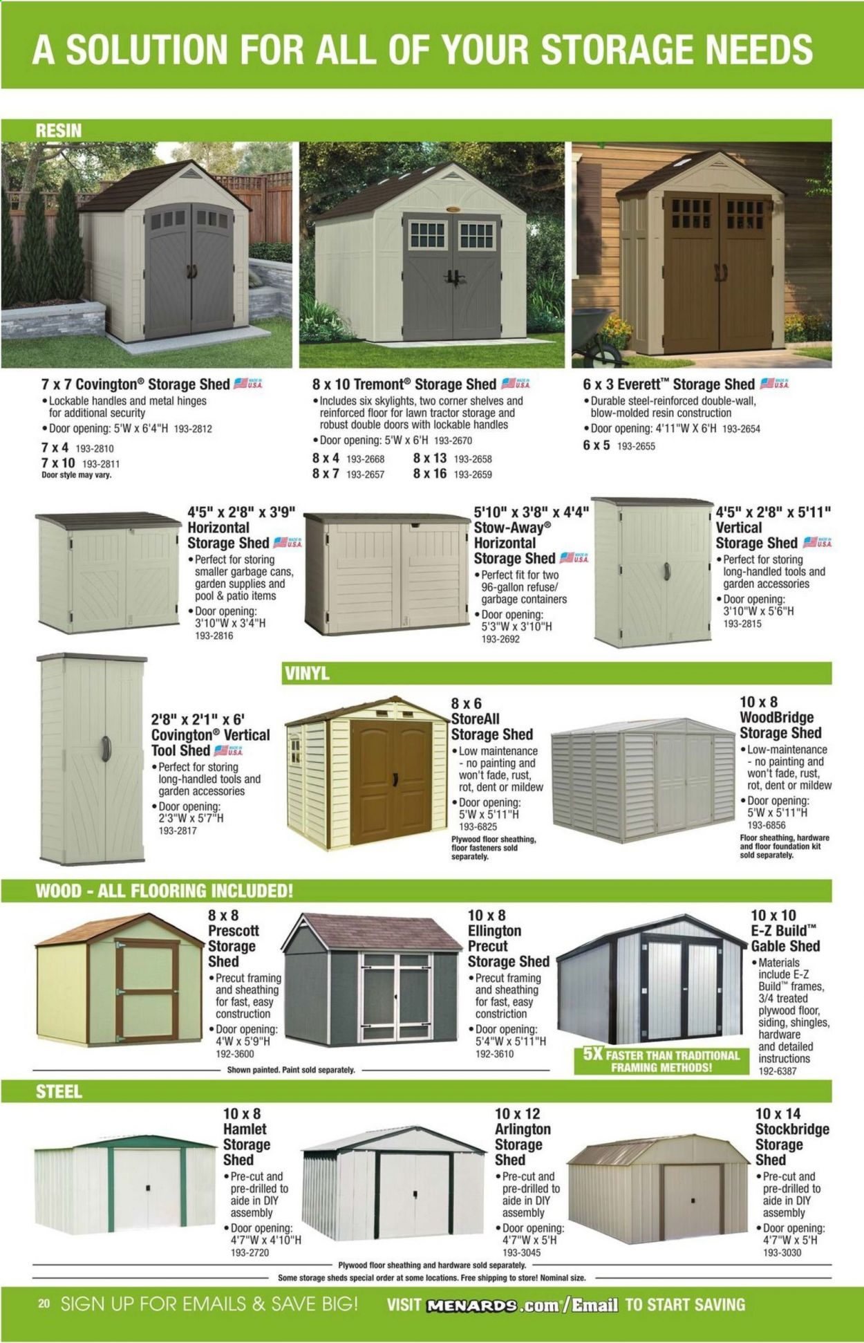 Menards Flyer 03 22 2020 12 31 2020 Weekly Ads