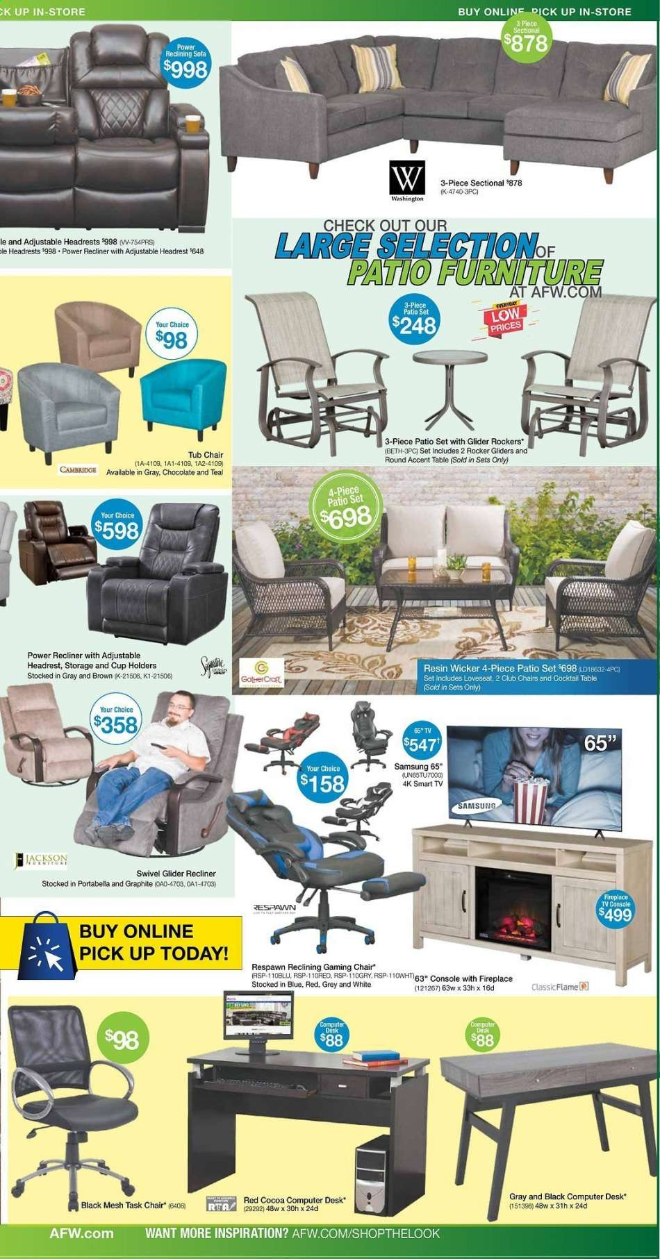 American Furniture Warehouse Flyer 04