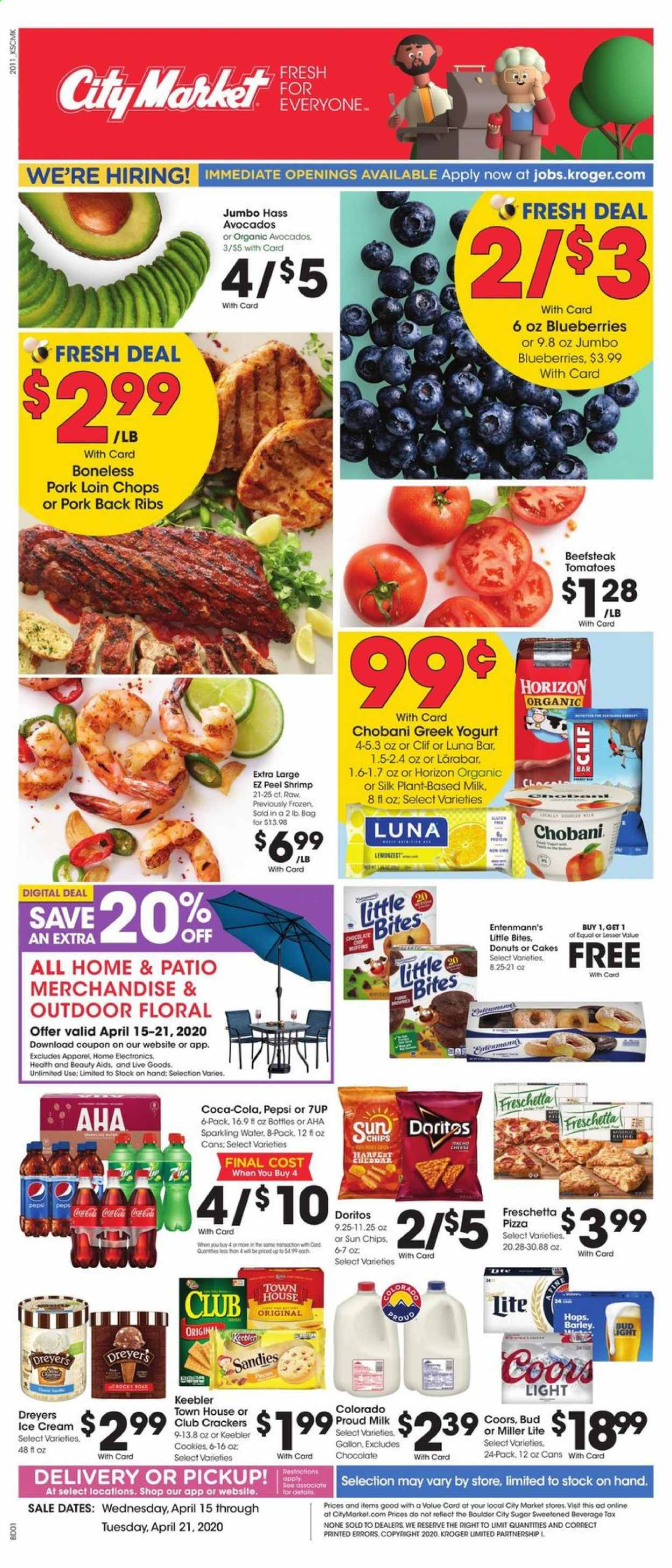 City Market Flyer  - 04.15.2020 - 04.21.2020. Page 1.