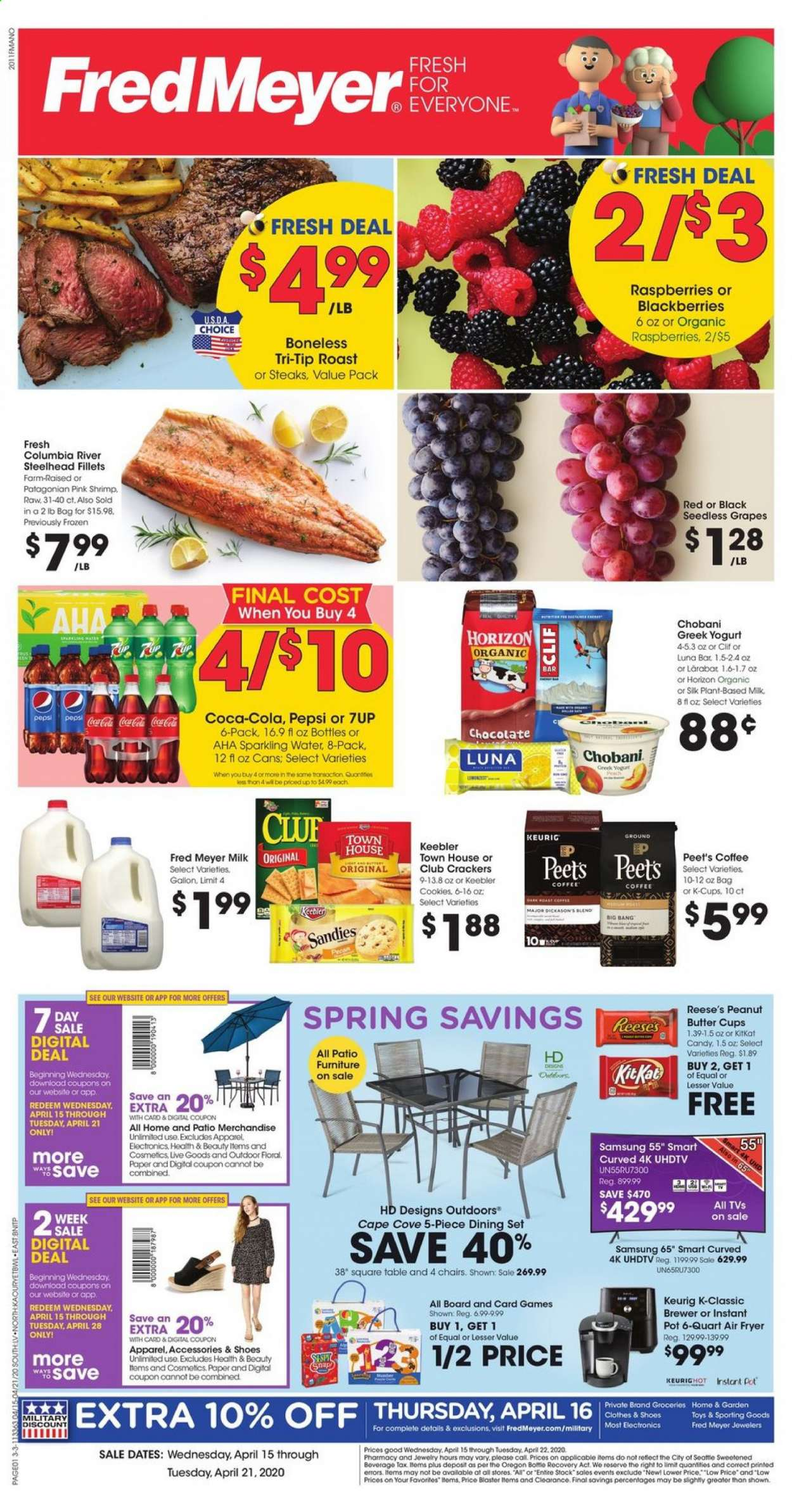 Fred Meyer Flyer  - 04.15.2020 - 04.21.2020. Page 1.