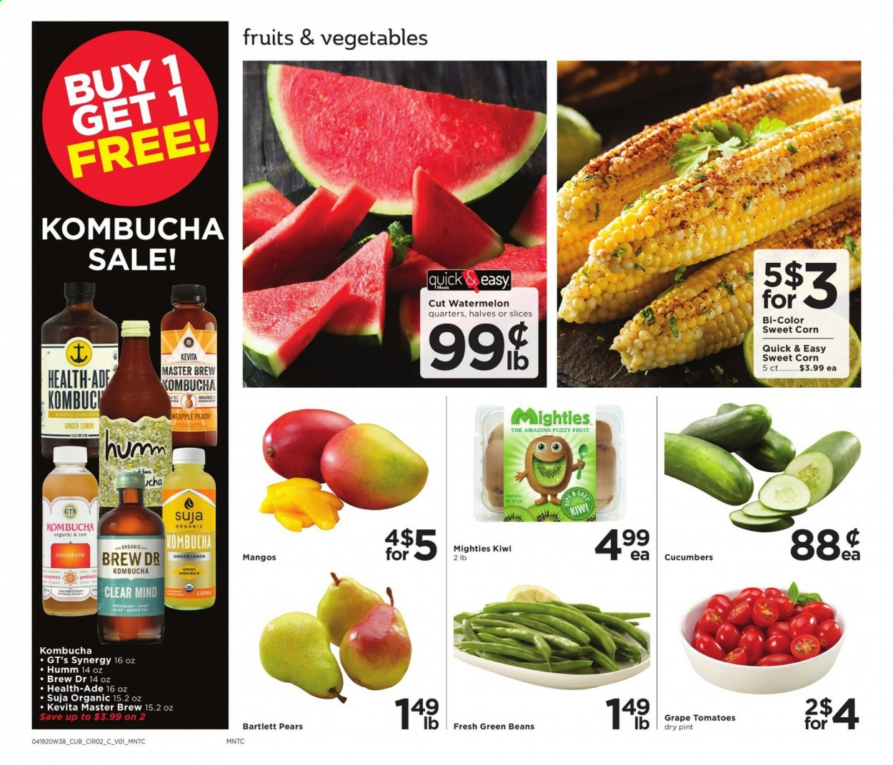 Cub Foods Flyer  - 04.19.2020 - 04.25.2020. Page 2.