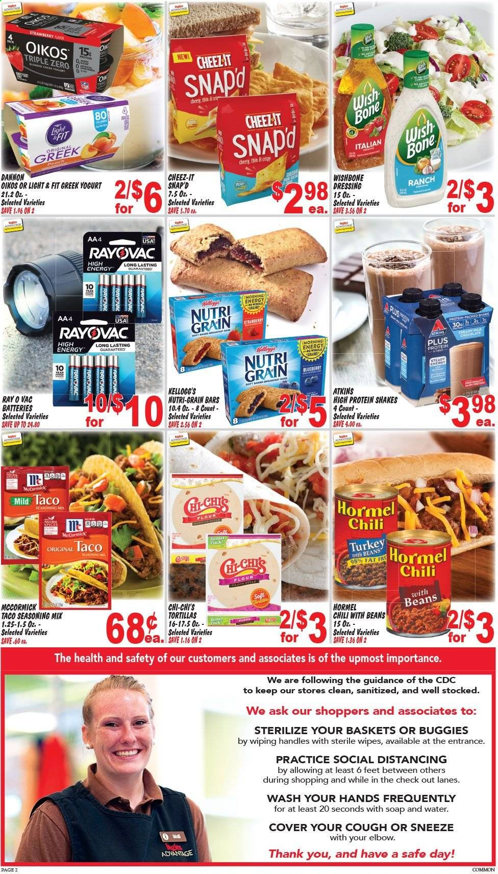 Ingles Flyer  - 04.22.2020 - 04.28.2020. Page 2.