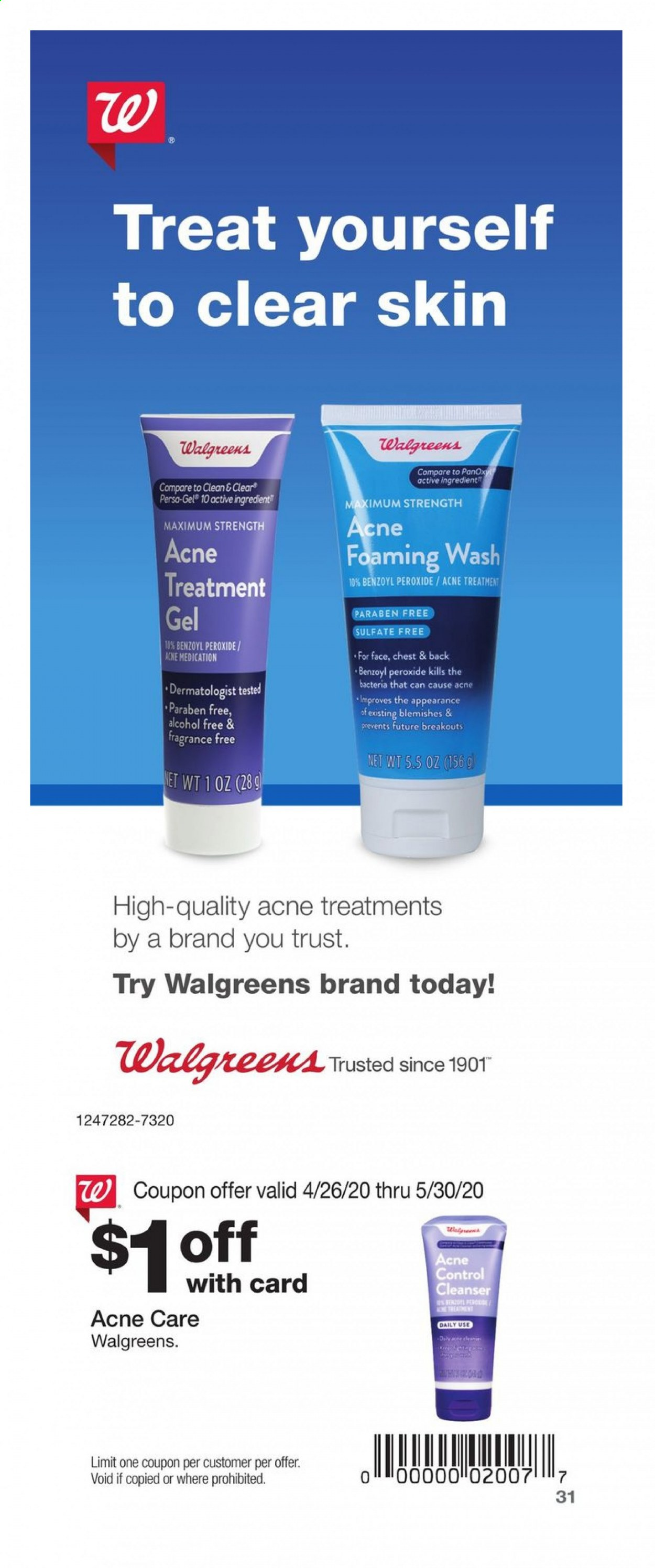Walgreens Flyer 04 26 2020 05 30 2020 Weekly Ads