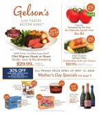 Gelson's Flyer - 04.29.2020 - 05.12.2020.