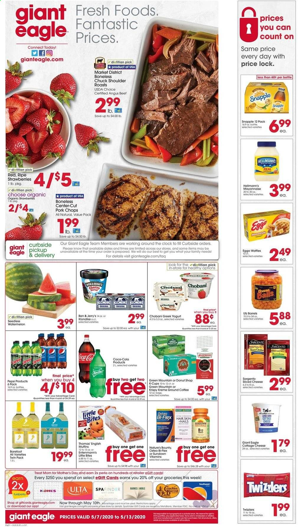 Giant Eagle Flyer  - 05.07.2020 - 05.13.2020. Page 1.