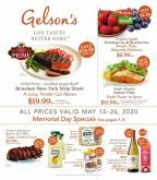 Gelson's Flyer - 05.13.2020 - 05.26.2020.