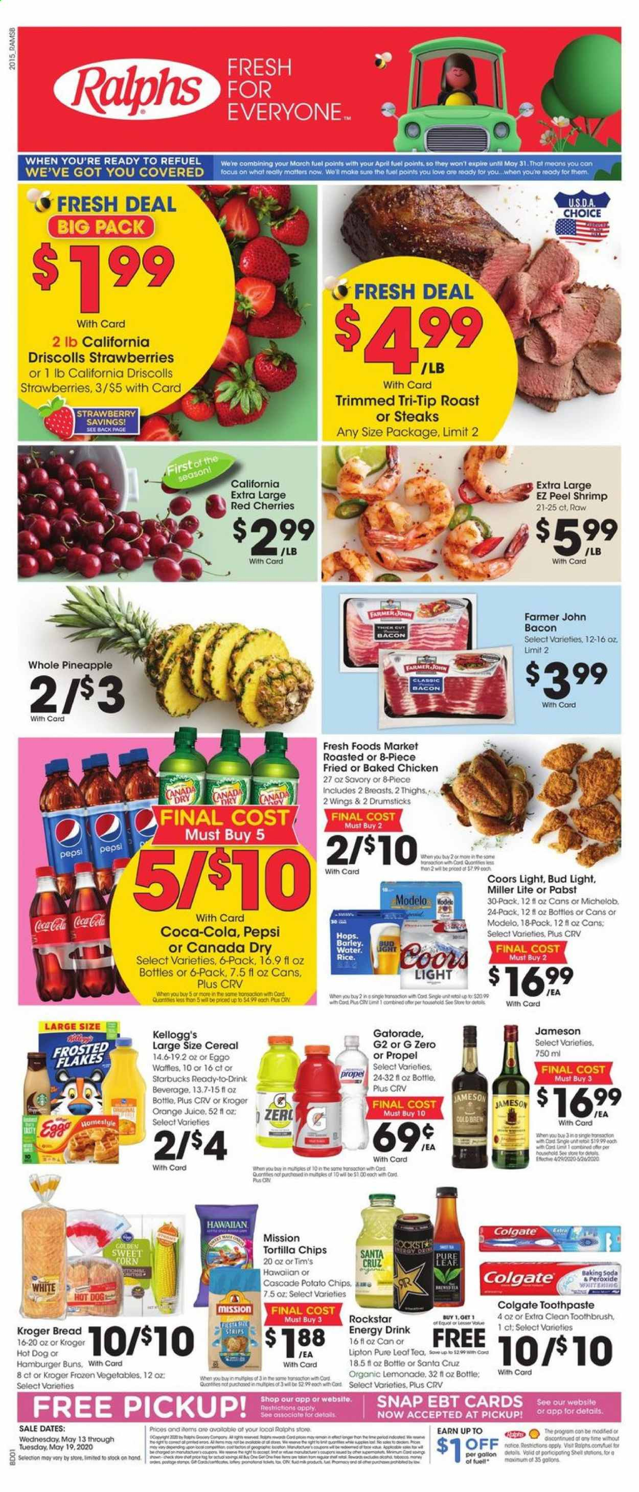 Ralphs Flyer  - 05.13.2020 - 05.19.2020. Page 1.