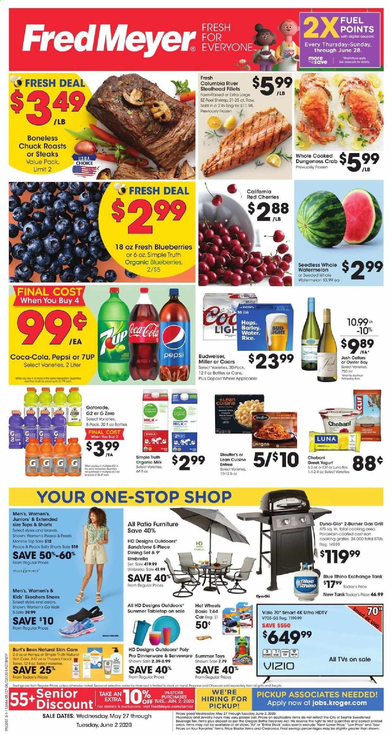 Fred Meyer Flyer  - 05.27.2020 - 06.02.2020. Page 1.