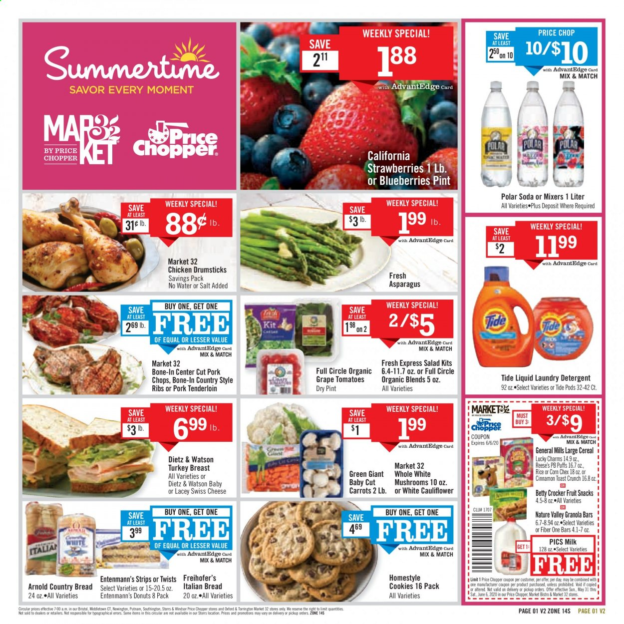 Price Chopper Flyer  - 05.31.2020 - 06.06.2020. Page 1.