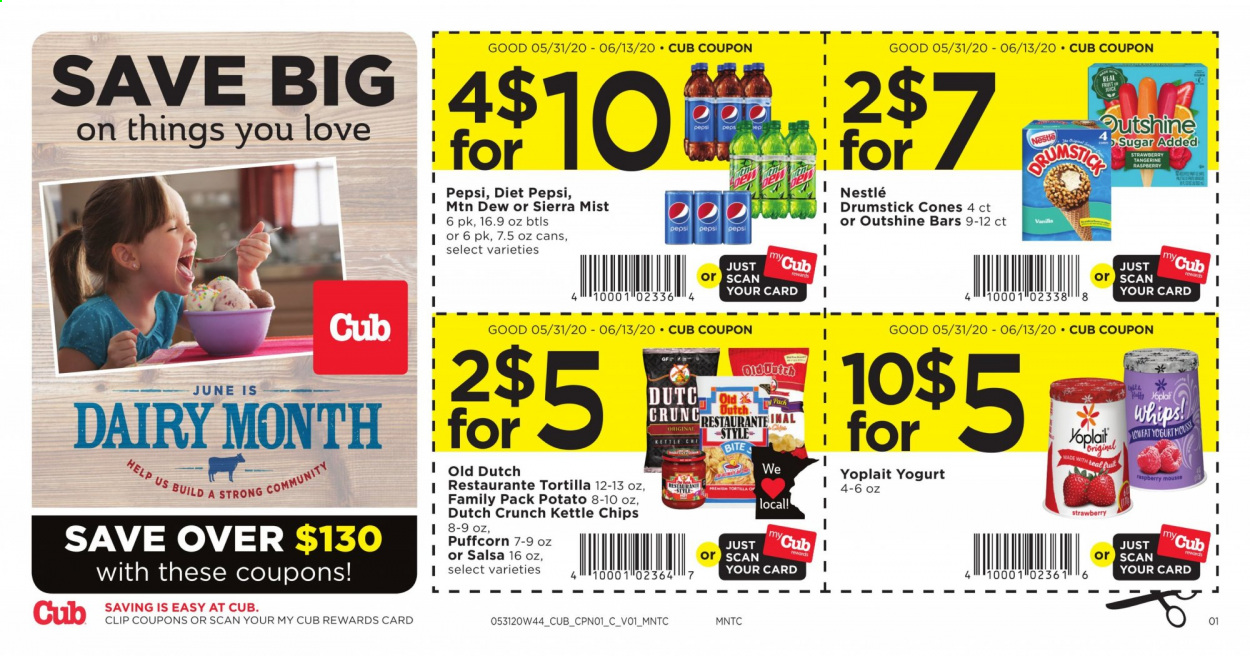 Cub Foods Flyer  - 05.31.2020 - 06.13.2020. Page 1.