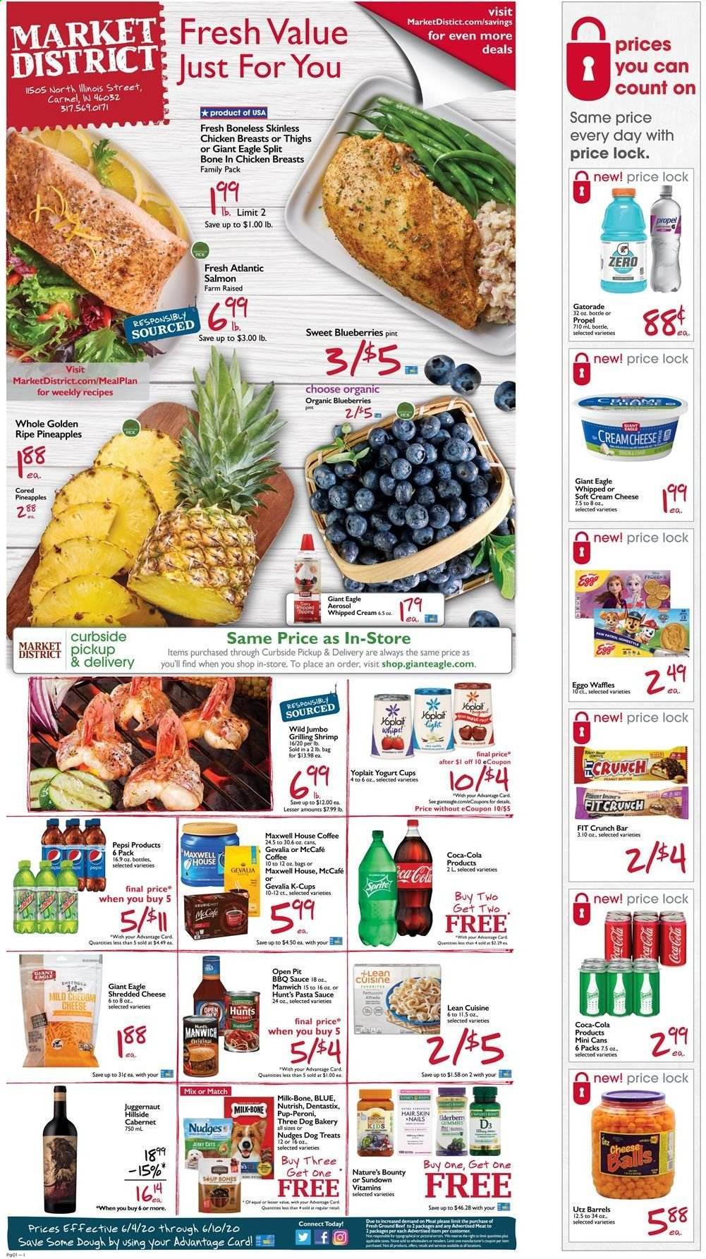 Giant Eagle Flyer  - 06.04.2020 - 06.10.2020. Page 1.