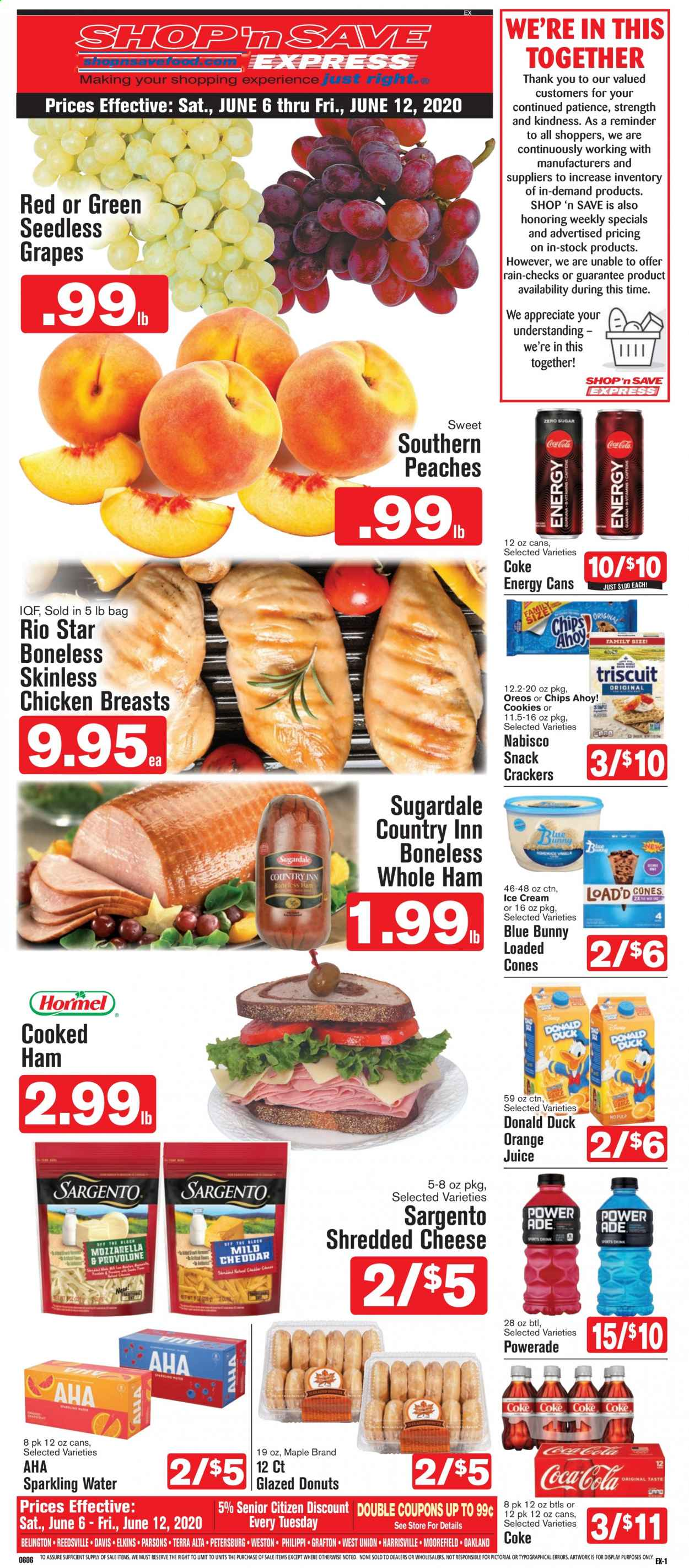 Shop 'n Save (Pittsburgh) Flyer  - 06.06.2020 - 06.12.2020. Page 1.