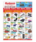 Dunham's Sports Flyer - 06.06.2020 - 06.11.2020.