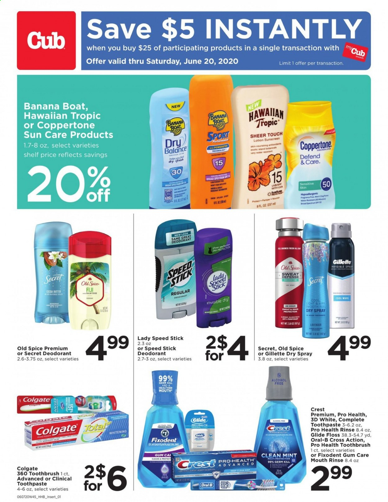Cub Foods Flyer  - 06.06.2020 - 06.20.2020. Page 1.