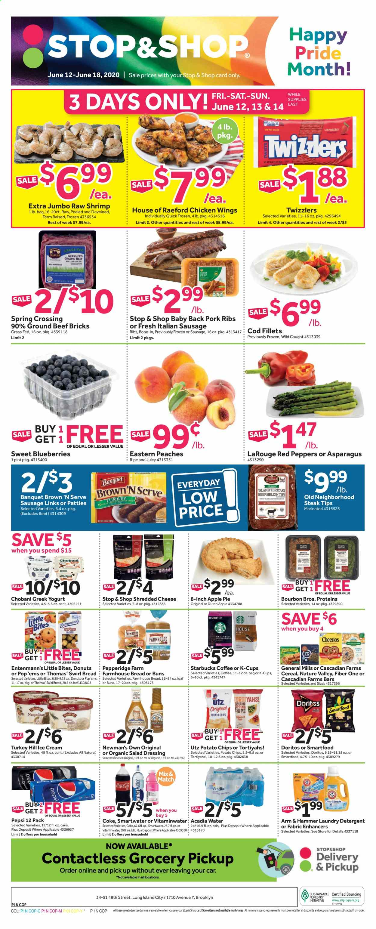 Stop & Shop Flyer  - 06.12.2020 - 06.18.2020. Page 1.