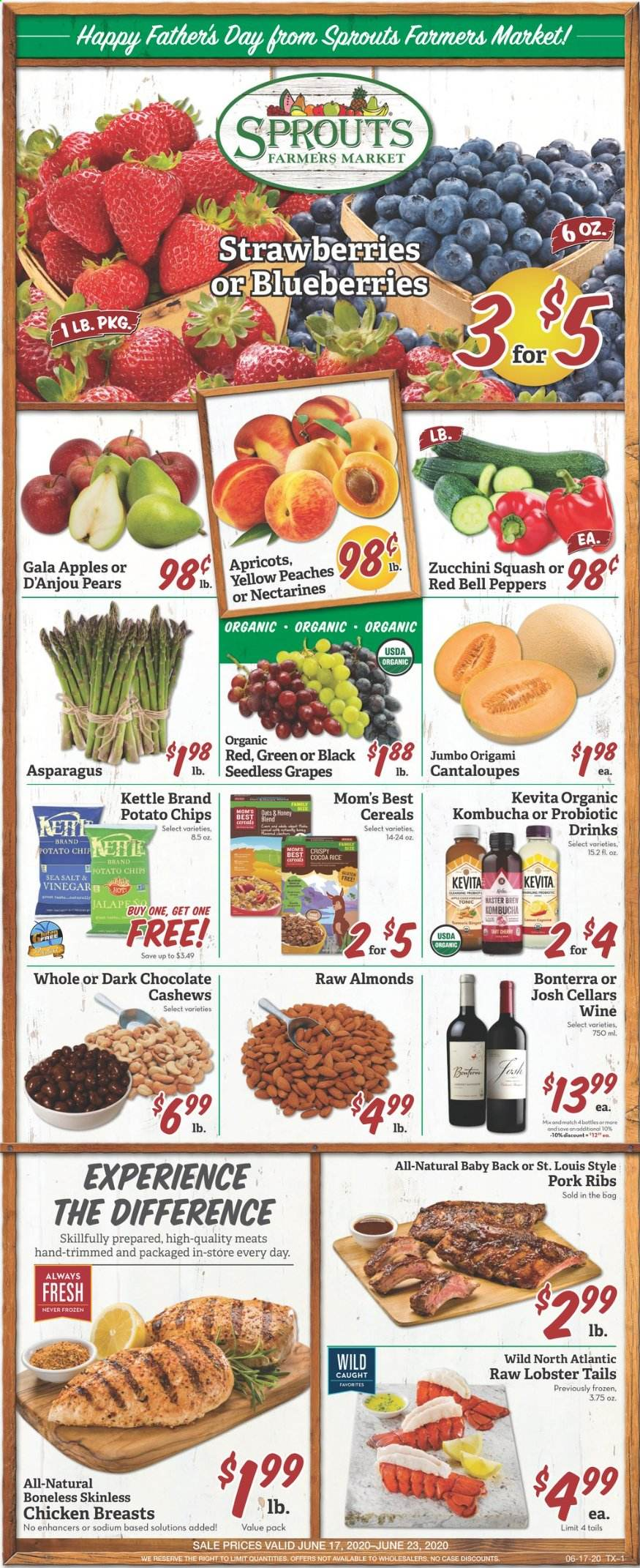 Sprouts Flyer  - 06.17.2020 - 06.23.2020. Page 1.