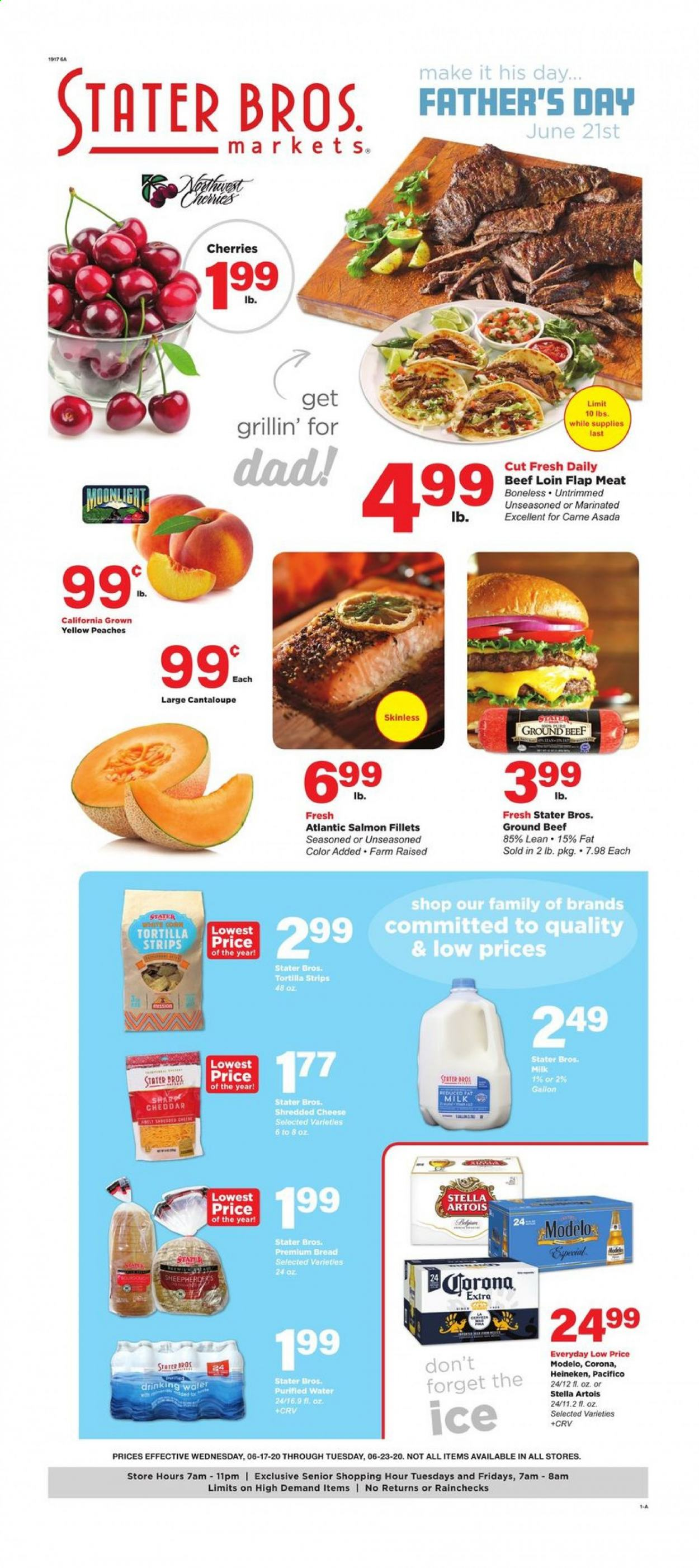 Stater Bros. Flyer  - 06.17.2020 - 06.23.2020. Page 1.