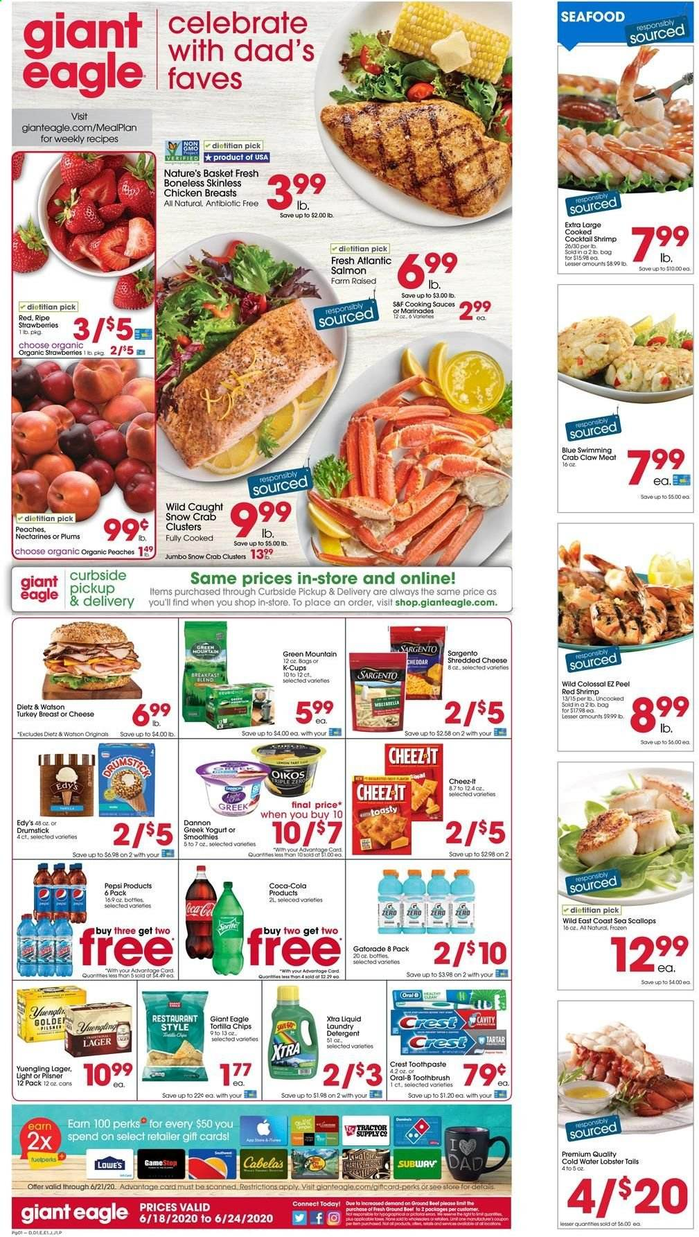 Giant Eagle Flyer  - 06.18.2020 - 06.24.2020. Page 1.