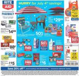 RITE AID Flyer - 06.28.2020 - 07.04.2020.