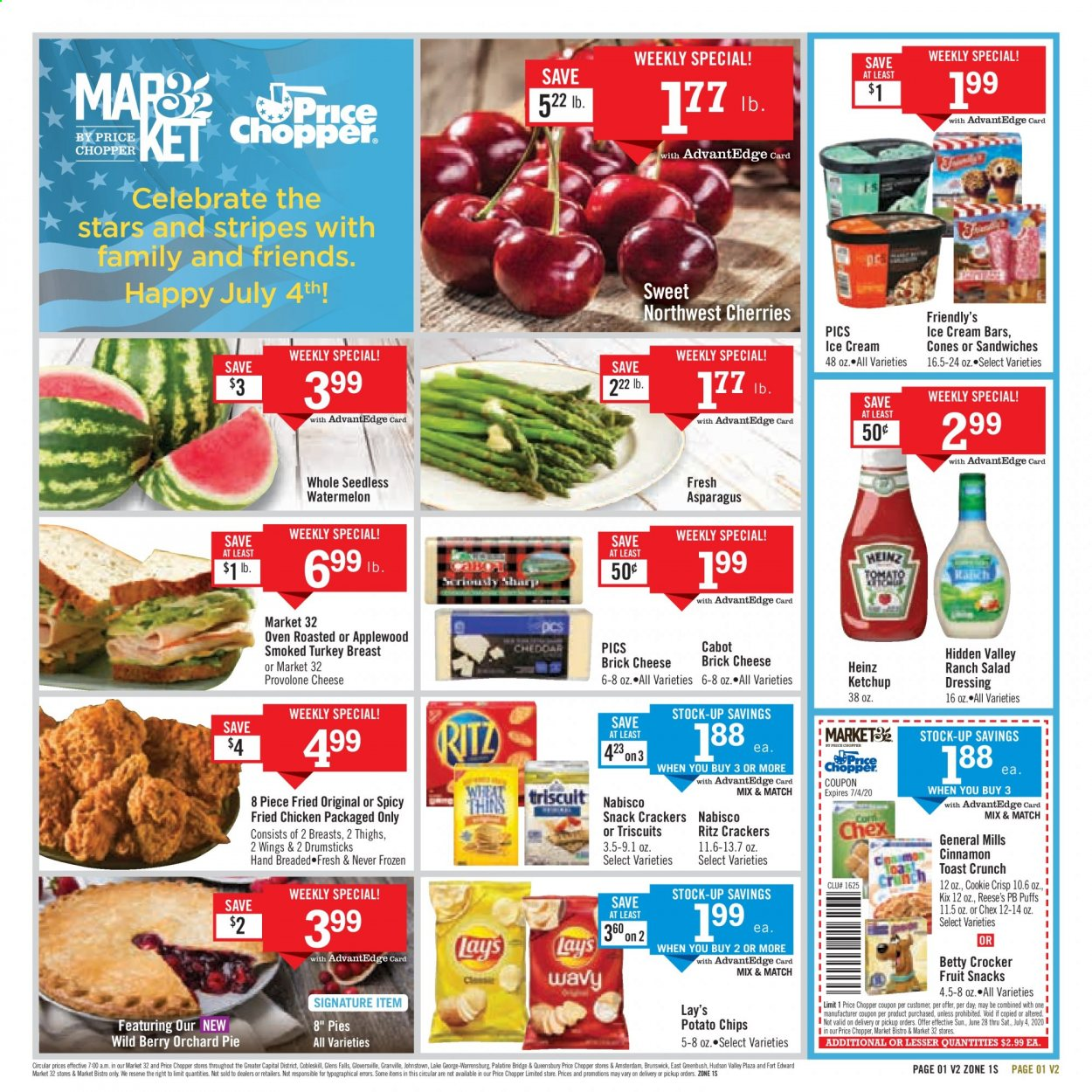 Price Chopper Flyer  - 06.28.2020 - 07.04.2020. Page 1.