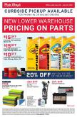 Pep Boys Flyer - 06.28.2020 - 07.25.2020.