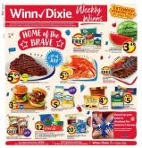 Winn Dixie Flyer - 07.01.2020 - 07.07.2020.