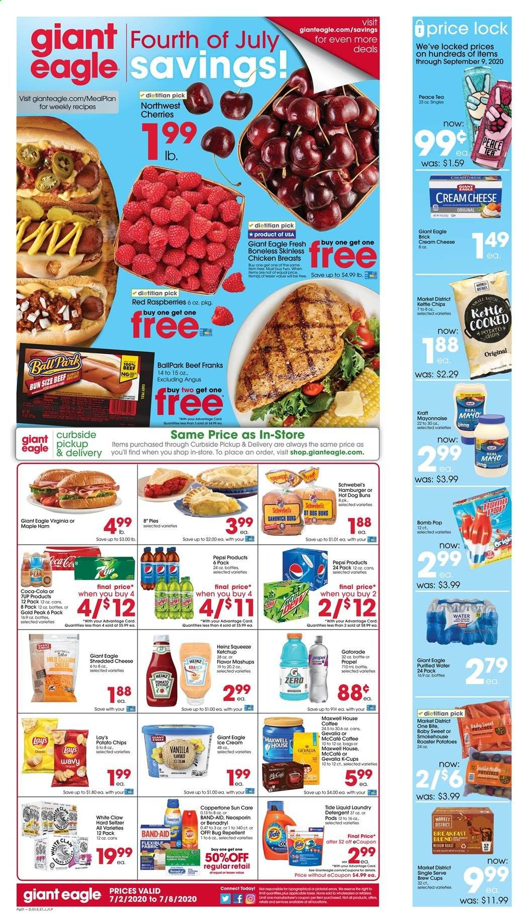 Giant Eagle Flyer  - 07.02.2020 - 07.08.2020. Page 1.