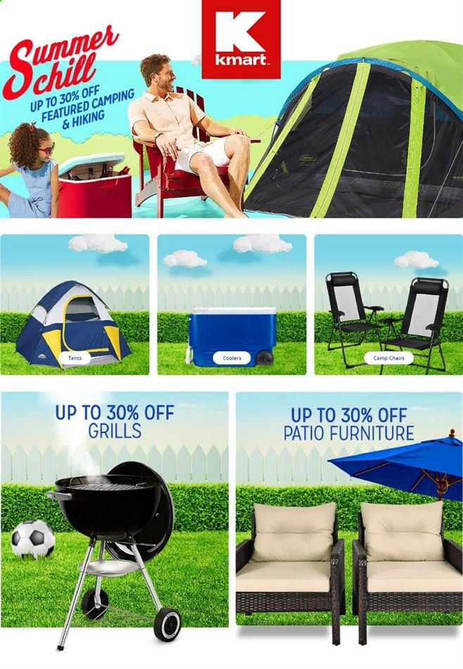 Kmart Flyer . Page 1.