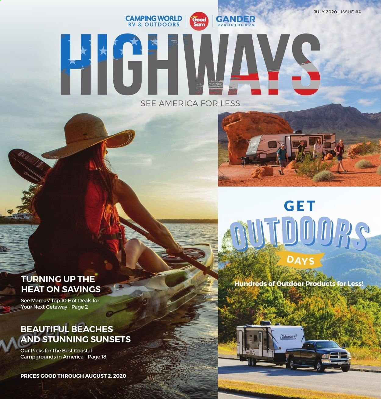 Gander RV & Outdoors Flyer  - 07.01.2020 - 08.02.2020. Page 1.