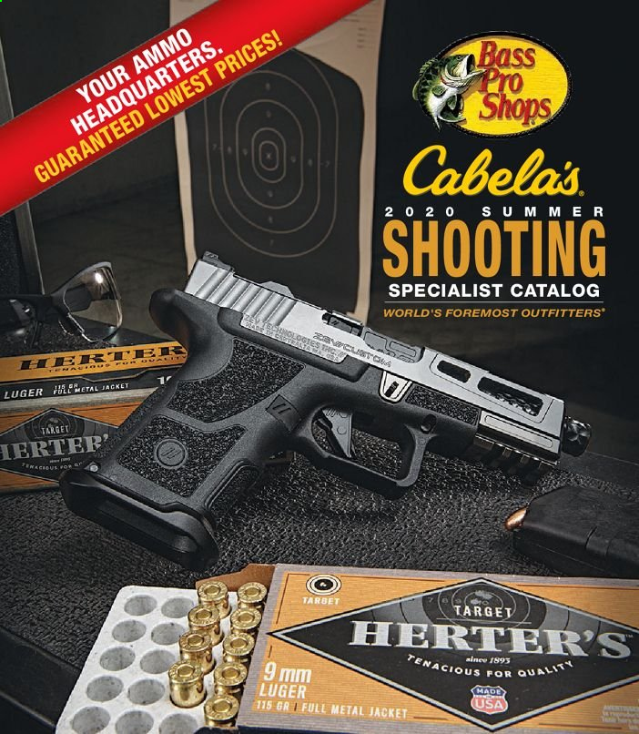 Bass Pro Shops Flyer - 07.01.2020 - 12.26.2020 - Sales products - bass pro, luger, tena, jacket. Page 1.