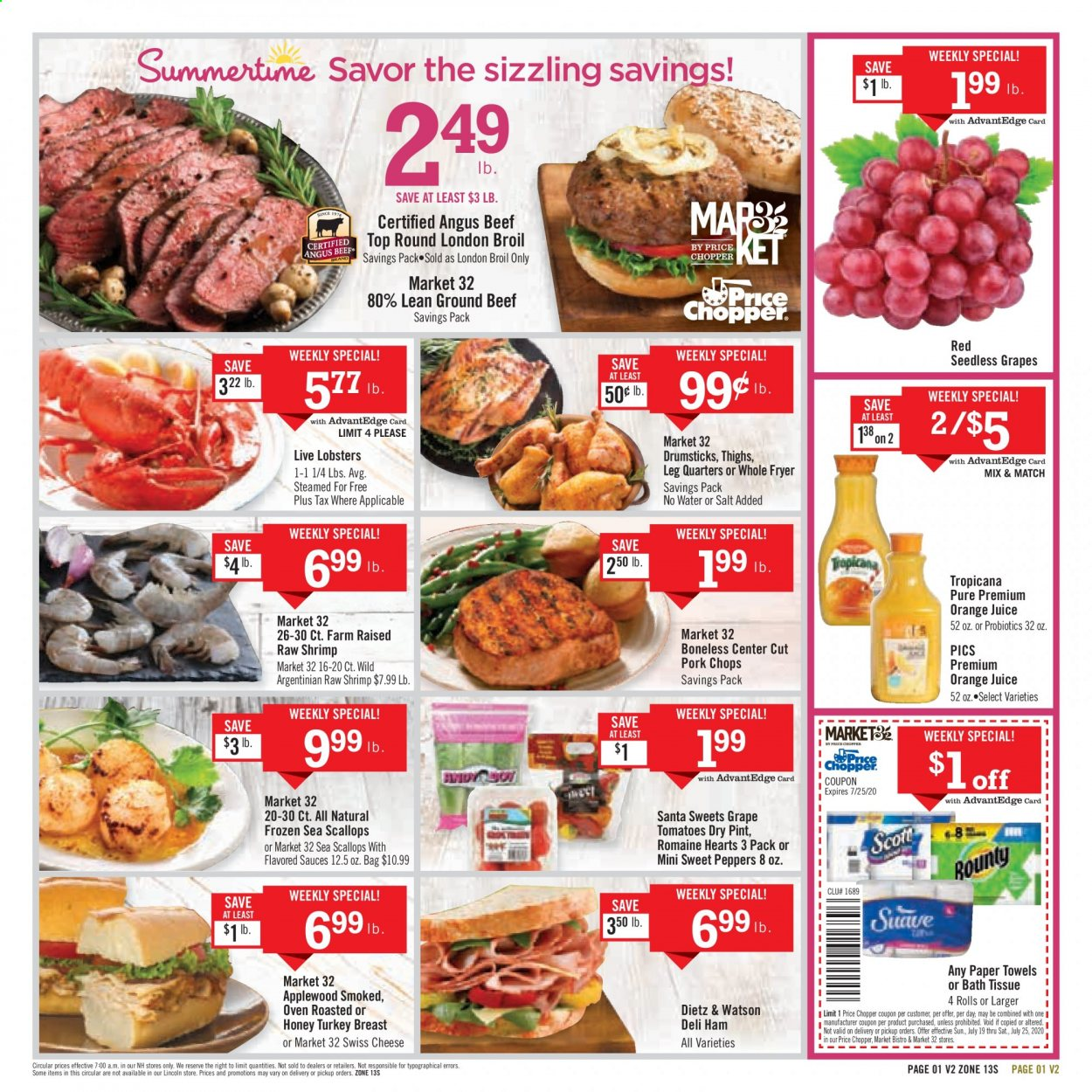 Price Chopper Flyer  - 07.19.2020 - 07.25.2020. Page 1.
