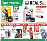 O'Reilly Auto Parts Flyer - 07.29.2020 - 08.25.2020.