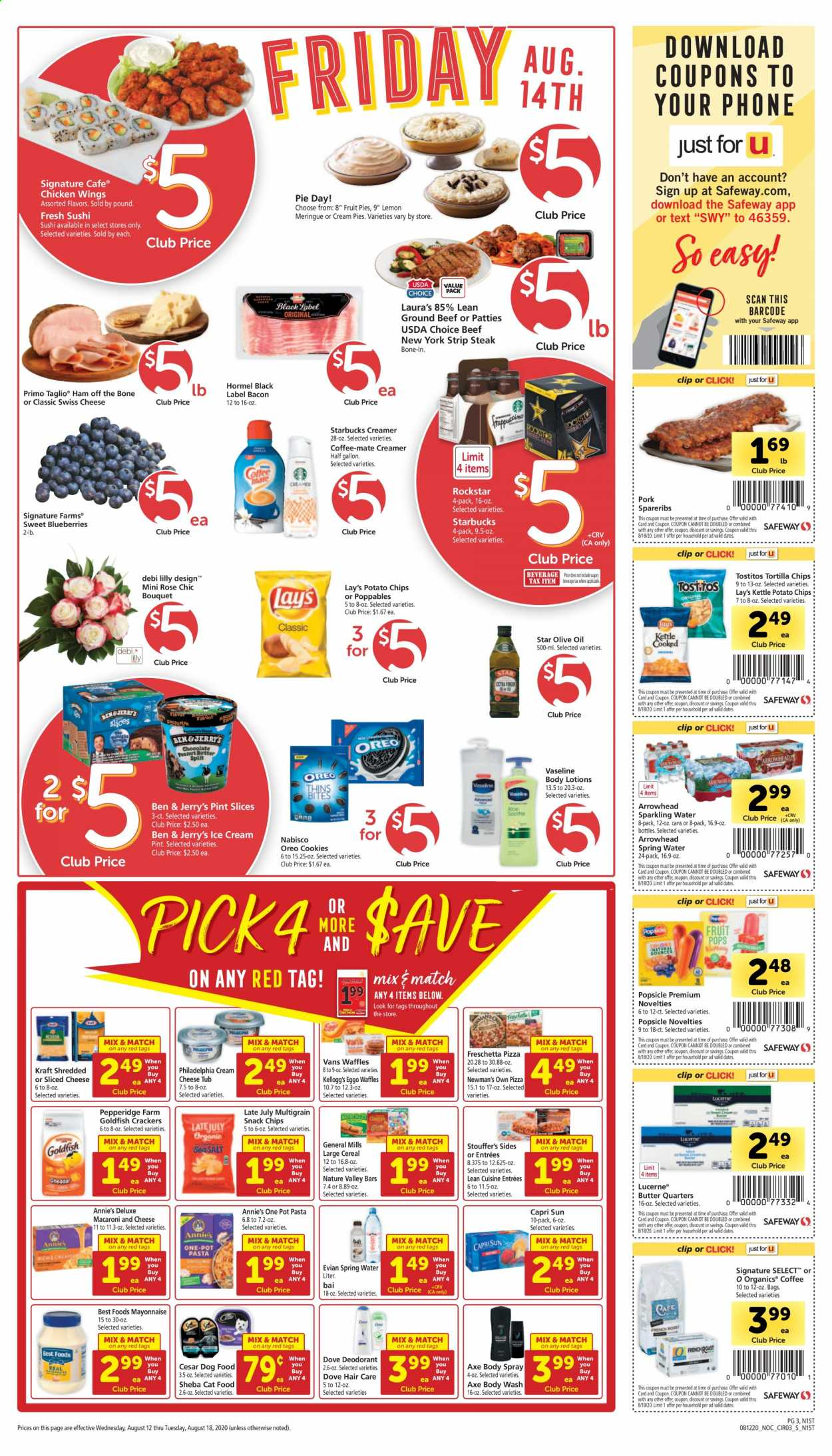 Safeway Flyer 08 12 2020 08 18 2020 Page 3 Weekly Ads
