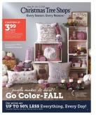 Christmas Tree Shops Flyer - 09.24.2020 - 10.12.2020.