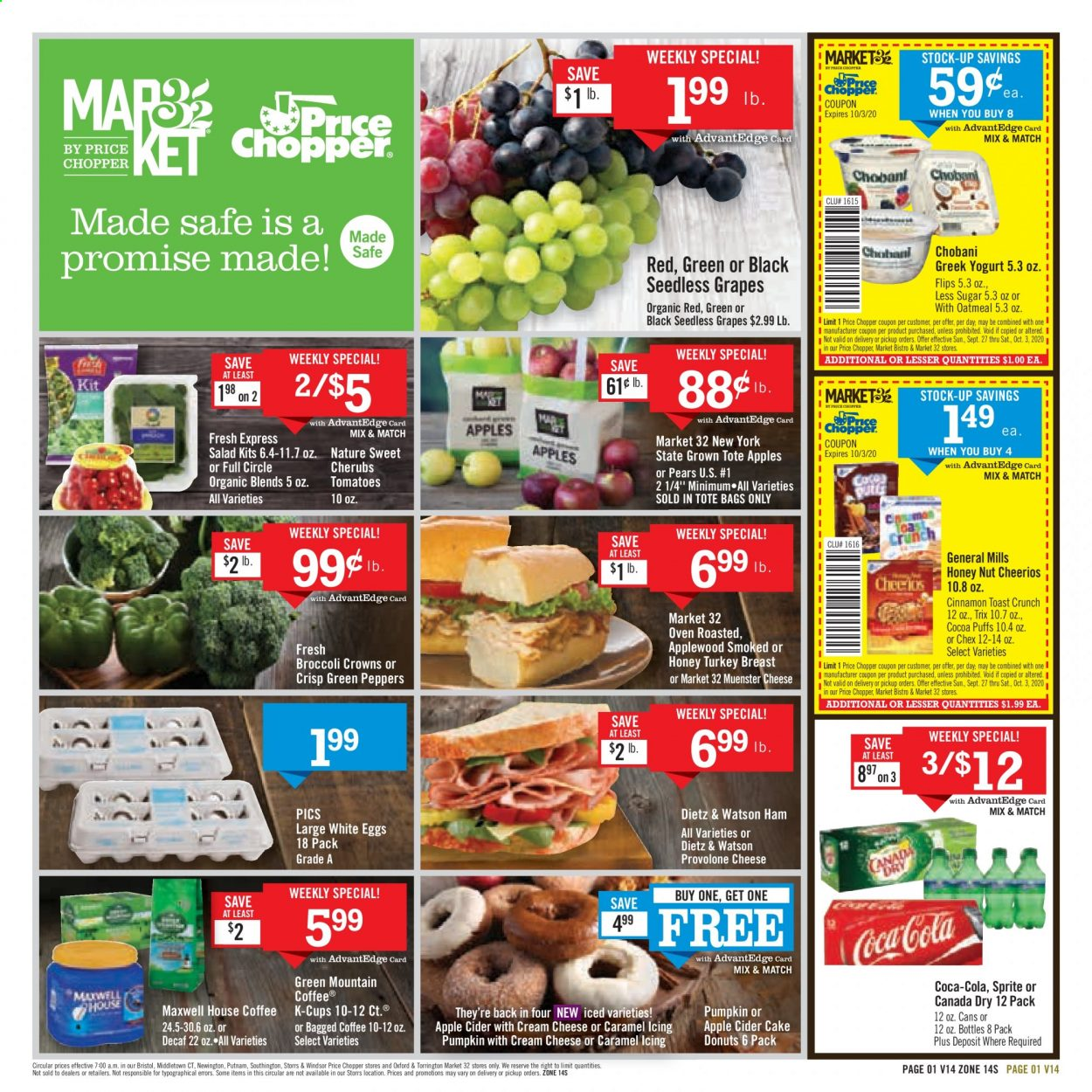 Price Chopper Flyer 09 27 2020 10 03 2020 Weekly Ads