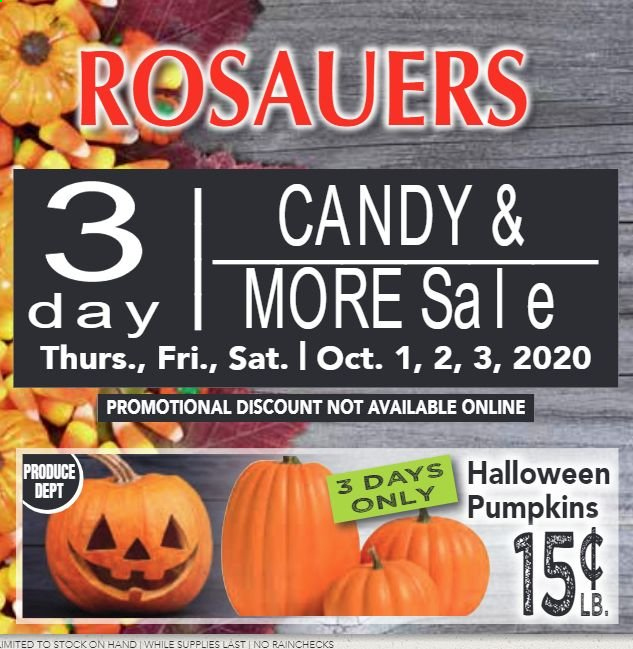 Rosauers Flyer - 10.01.2020 - 10.03.2020 - Sales products - candy. Page 1.