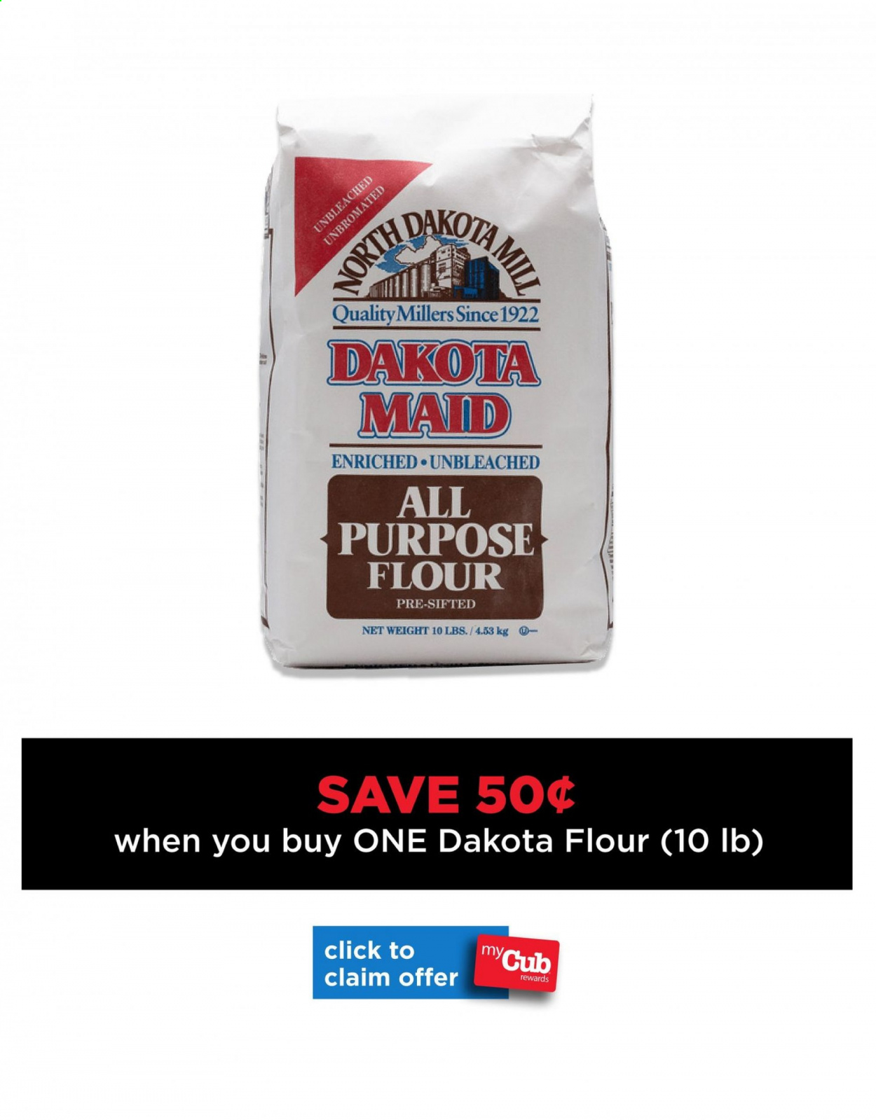 Cub Foods Flyer - 10.11.2020 - 10.31.2020 - Sales products - all purpose flour, flour. Page 1.
