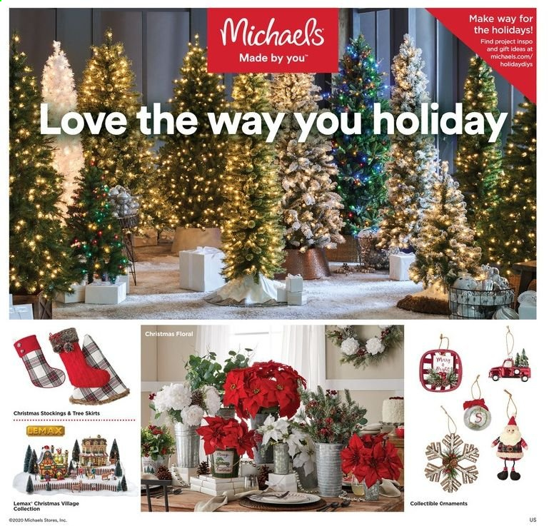 Michaels Flyer 10 25 2020 10 31 2020 Page 1 Weekly Ads