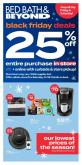 Bed Bath & Beyond Flyer - 11.26.2020 - 11.30.2020.