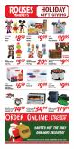 Rouses Markets Flyer - 11.27.2020 - 11.29.2020.