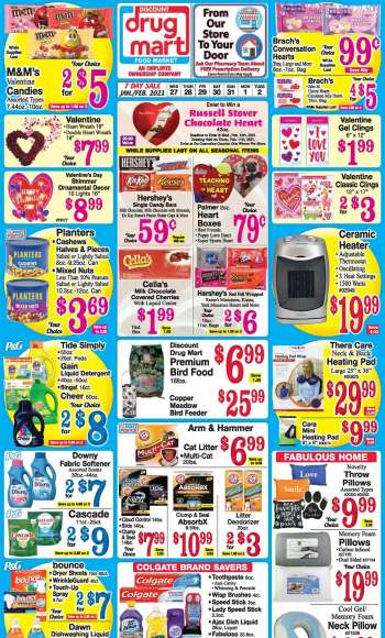 Discount Drug Mart Flyer - 01.27.2021 - 02.02.2021.