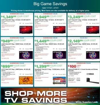 Costco Flyer - 01.17.2021 - 02.07.2021.