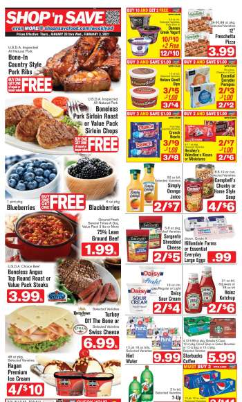 Shop 'n Save Express Flyer - 01.28.2021 - 02.03.2021.